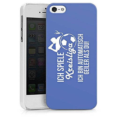 Apple iPhone X Silikon Hülle Case Schutzhülle Fußball Kreisliga Bier Hard Case weiß