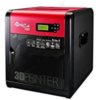 XYZ Printing da Vinci 1.0 Pro 3-in-1 (3D Printing, 3D Scanning, Optional Laser Engraver), Open Filament, 20x20x20cm Built Vol. - ukpricecomparsion.eu