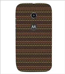PrintDhaba Pattern D-5274 Back Case Cover for MOTOROLA MOTO E2 (Multi-Coloured)