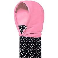 Panegy - Infantil Máscara de Esquí Multifuncional Capucha Combinación Resistente al Viento Estampado Deportes Invierno Cálido Sombrero para Niños Niñas - Estrella