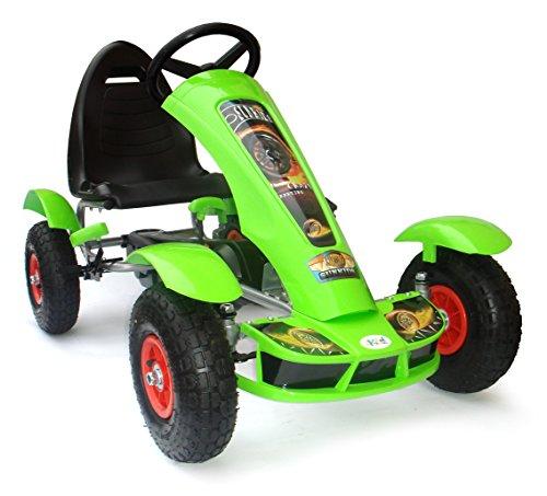 Kart à pédales JOY 4KiDS pour enfant, pneus gonflables en caoutchouc (5 à 10ans)