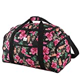 Rada Reisetasche Discover L 60 Liter Volumen, wasserabweisende Sporttasche für Junge und Mädchen, Reisetasche und Businesstasche für Damen und Herren (Maße: 62x33,5x31,5cm) n (hibiscus)