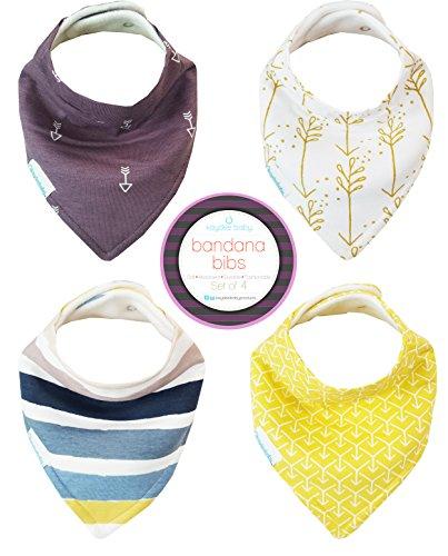 kaydee-baby-lot-de-4-bandanas-modernes-avec-sac-et-boutons-pression-ajustables-pour-petites-filles-e