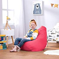 Bean Bag Bazaar Kids Gaming Chair, Indoor Outdoor Bean Bags, 69cm x 59cm, Large