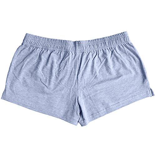 ... Musclealive Herren Fitnessstudio Bodybuilding Trainieren Kurze Hose  Baumwolle Men Shorts Style A Gray, 3 inseam ...