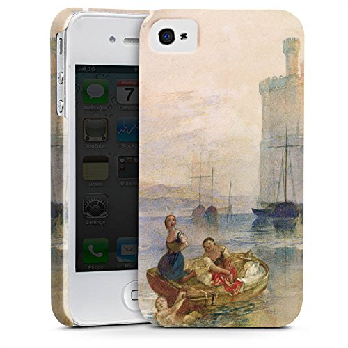 Apple iPhone X Silikon Hülle Case Schutzhülle Carnarvon Castle Wales Kunst Premium Case glänzend