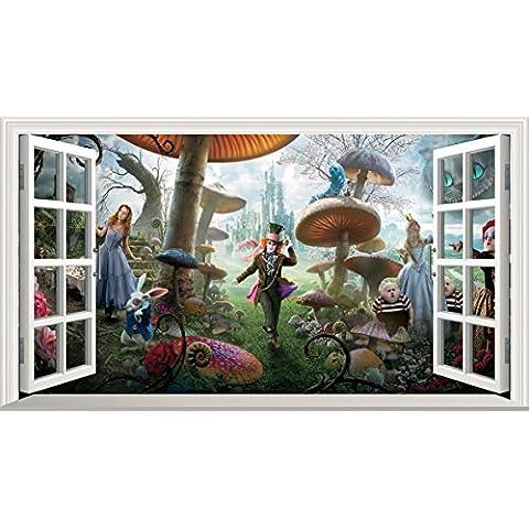 Alice nel paese delle meraviglie, Full Colour Magic-Immagine per finestra-Poster