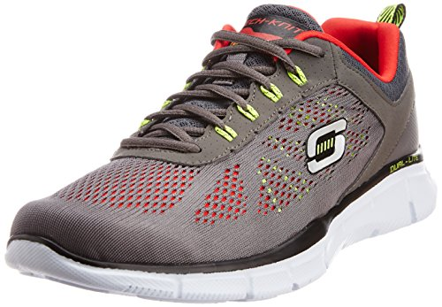 skechers-equalizer-deal-maker-herren-hallenschuhe-grau-charcoal-red-ccrd-40-eu