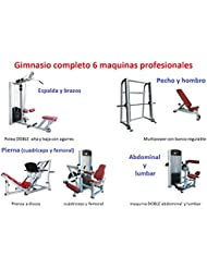 Grupo Contact Gimnasio completo (6 maquinas profesionales)