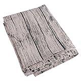 VORCOOL Nappe Rectangulaire Coton Tapis Protection Table pour Décoration Table-90 x 90 cm (Gris)