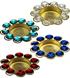 #8: Diwali Diya Lights Candle Holder Home Decoration, Set of 4 Sold by Anand Home Decore