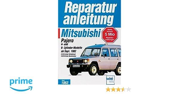 Automobilia MITSUBISHI Pajero V20 1990-99 Reparaturanleitung ...