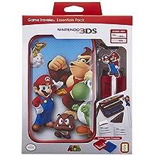 Official Essential Mario Pack - Set de accesorios oficial para nueva Nintendo 3DS XL/Nintendo 3DS XL con funda para la 3DS y juegos, 4 diseños a elegir