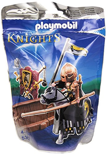 PLAYMOBIL Caballeros - Figura de Torneo de la Orden del Caballo Salvaje (5357) 1