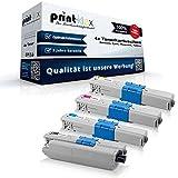 kompatibles Toner Sparset für OKI C310 C310DN C330 C330DN C331 C331DN C510 C510DN C511 C511DN C530 C530DN C531 C531DN C 310 C310 DN C 330 C330 DN C 331 C331 DN C 510 C510 DN C 511 C511 DN C 530 C530 DN C 531 C531 DN - Toner Set