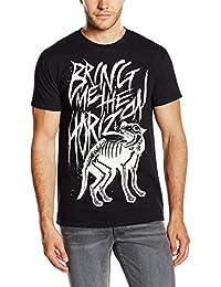 Bring Me The Horizon Men's Wolf Bones Short Sleeve T-Shirt