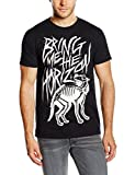 Bring Me The Horizon Men's Wolf Bones Short Sleeve T-Shirt