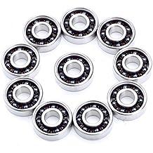 Rodamientos para skateboard 8/x 22/x 7/mm de ancho RS PRO RIDERS ABEC 9 de cer/ámica 608er 2RS 4/unidades