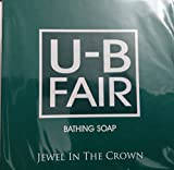 #9: U B Fair Bathing Soap 150gm - Get Look Star Look.!!!
