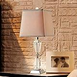 ASL Lampada da tavolo American Country Camera Lampada da comodino decorazione del salone di cristallo lampada da tavolo Nuovo