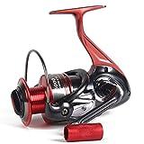 GEARRATIO Fishing Reel 13LB Fibre De Carbone Drag 5.0:1/4.7:1Shielded Ball Eau Salée Ou D'eau Douce Inégalée Bobines D'innovation High-Tech,5000