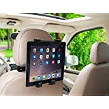 EGOZONE Adjustable Car Seat Head Rest Mount And Holder For 7 To 10 Inch Tablets And IPad Car Headrest Mount Holder Rotating Cradle Back Seat Dock Stand