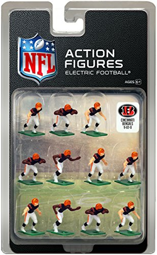 ark Uniform NFL Action Figure Set by Tudor Games (Bengals Uniformen)