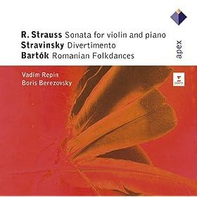 Violin Sonata In E Flat Major Op.18 : II Improvisation - Andante Cantabile