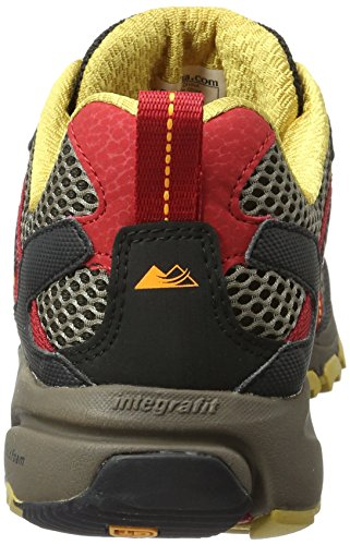 Columbia Mountain Masochist Iii, Chaussures de Running Compétition Homme Rouge (Mud/ Rocket)