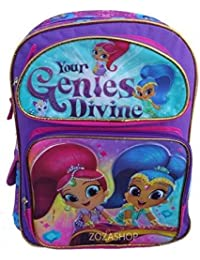 Nickelodeon Shimmer And Shine Your Genies Divine 16 Large Backpack-36639 by Nickelodeon
