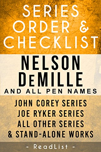 Nelson DeMille Series Order & Checklist: John Corey Series, Joe Ryker Series, John Sutter Series, Paul Brenner Series, Plus All Other Books, Novels, and ... (Series List Book 18) (English Edition) - Plus-brenner