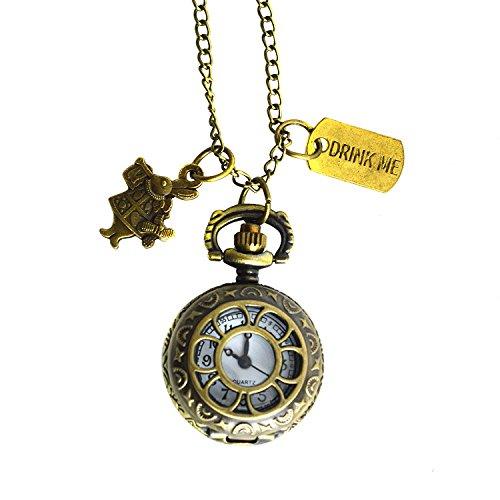 """mit """"Alice im Wunderland""""-Motiv, Teekanne und Hase in einer Geschenkbox ()"""