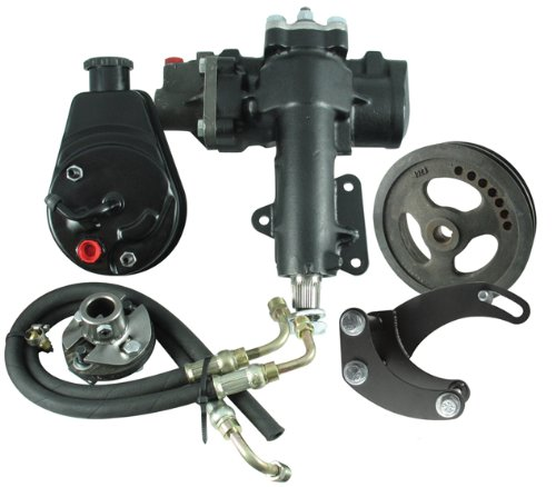 Borgeson Components 999016 Power Steering Conversn Kit 63-66 Corvette SBC - 63 Steering