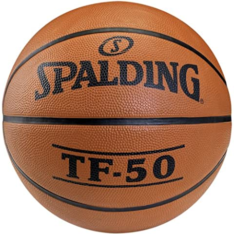 Spalding Basketball Spalding TF50 Out 73-851z - Pelota de baloncesto ( mujer, cuero, juego ) , color incoloro, talla