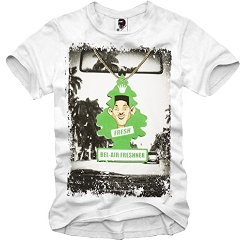 E1SYNDICATE T-SHIRT FRESH PRINCE OF BEL AIR SWERVE SWAG WILL SMITH KULT S-XXL (Fresh Prince Bel Air Bekleidung)