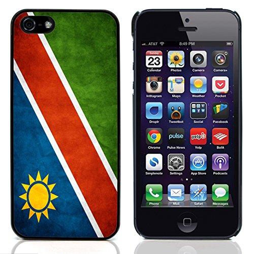 Graphic4You Vintage Uralt Flagge Von Südafrika South Africa Design Harte Hülle Case Tasche Schutzhülle für Apple iPhone 5 und 5S Namibia Namibisch