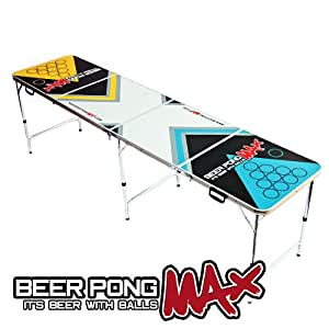Beer Pong Tisch, 2.4m Offiziellen Größe BeerPongMax Klapptisch Für Das Bier Trinkspiel - Leicht und Portabel