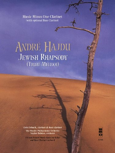 Hajdu Jewish Rhapsody for Cl