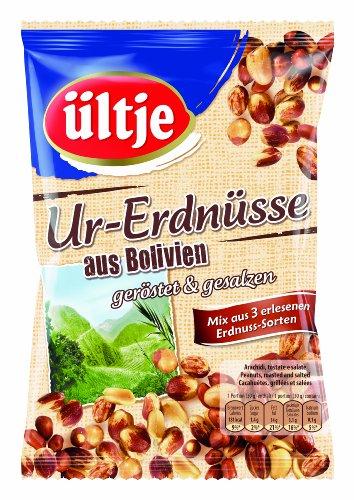 ültje Ur-Erdnüsse aus Bolivien, geröstet und gesalzen, 6er Pack (6 x 200 g)