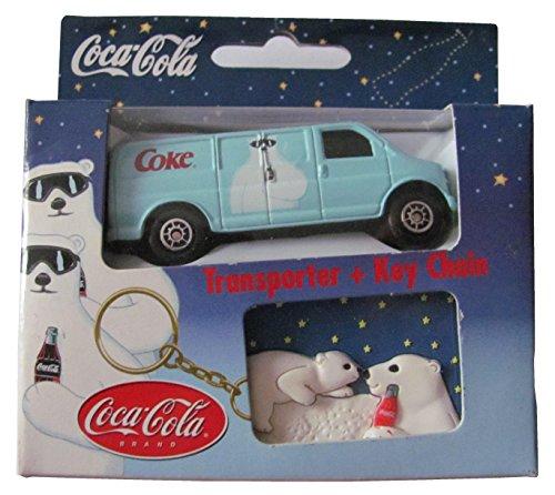 Coca Cola - Transporter & Key Chain - Pkw & Schlüsselanhänger - Chevrolet Express Van - US Pkw