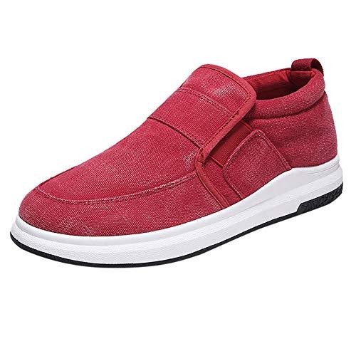 (Tatis Herren Shoes Niedrige faul Segeltuchschuhe Segeltuchschuhe Flache Ferse Atmungsaktiv Lässige Sport Style Faule Schuhe)