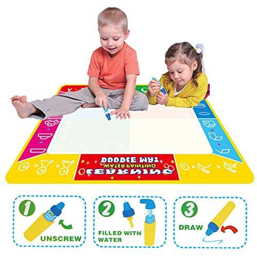 Doodle-agua-Tablero-de-Escritura-de-Agua-Matxhforever-100cmx73cm-4-agua-de-tablero-de-dibujo-pintura-colores-Mat-Doodle-alfombra-Kid-juegos-Mat-temprana-juguetes-para-el-regalo-de-los-nios-de-los-nios