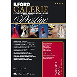 Ilford Galerie Prestige Smooth Pearl - 5 X 7 Inches, 100 Sheets (2001744)
