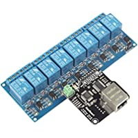 SainSmart Web TCP/IP 10A Relay Remote Control Kit, RJ45 Interface - ukpricecomparsion.eu