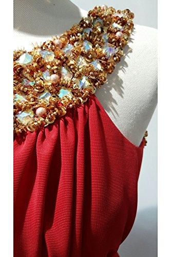 Pia Michi Damen Kleid rot rot Rot