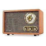 Victrola Clásico Altavoz Bluetooth con Radio Am/FM