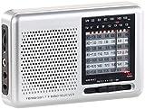 auvisio Taschenradio: Analoger 9-Band-Weltempfänger mit FM, MW & 7x KW, Jackentaschen-Format (Analoge Weltempfänger Reise Radios)
