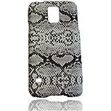 Schlange Hülle Schale Abdeckung Case Cover Shell Housing für Samsung Galaxy S5 SV S V I9600_Weiß
