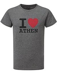 JOllify ATHEN T-Shirt mit hochwertigem Druck für Sport und Freizeit