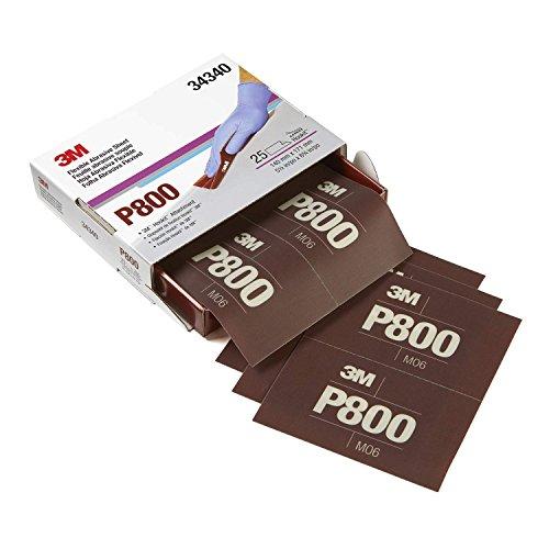 Preisvergleich Produktbild Schleifpapier Streifen 140X171 K800